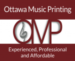 Ottawa Music Printing
